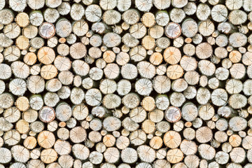 firewood free-standing stack, seamless pattern