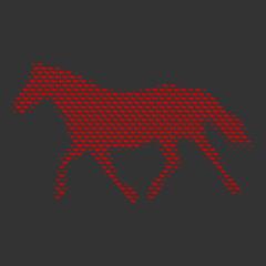 pferd im trab I