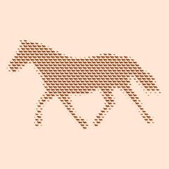 pferd im trab II