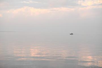 morning  Fisherman on the White River