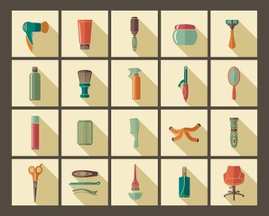 Hairdresser's accessories and tools