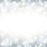 Christmas background with fallen snowflakes.
