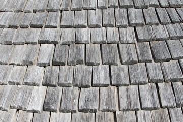 ancienne couverture en tuiles de bois,bardeaux