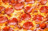 Pepperoni pizza closeup - 72814556