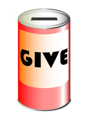 Give Tin Can