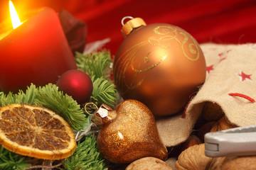 Vorweihnachtliche Dekoration