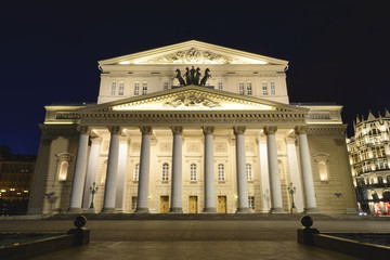 Night view of the great theater