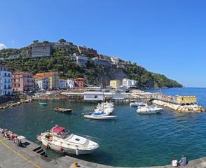 Landscape of Sorrento, Naples Italy
