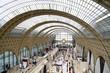 canvas print picture - Alter Bahnhof Musée d´Orsay Paris