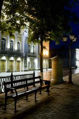 Evening boulevard