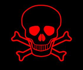 Red Skull and Crossbones