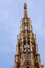 Der Schöne Brunnen in Nürnberg