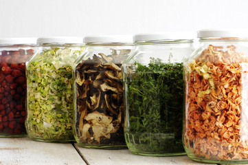 dried ingredients vegetables 2