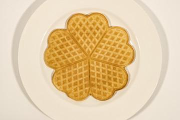 Heart-Shaped Waffle
