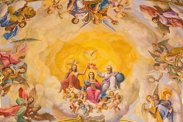 Seville - Coronation of Virgin Mary in Basilica de la Macarena
