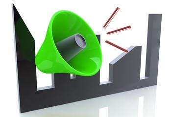 megaphone concept