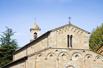 Medieval church (Italy - Tuscany)