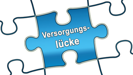 ptk18 PuzzleTeilGrafik ptk-v5 - Versorgungslücke - blau g2475