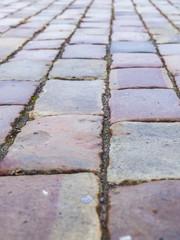 Old stone blocks