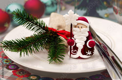 Christmas ans New Year table decoration - 72831103