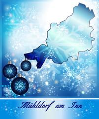 Karte von Muehldorf