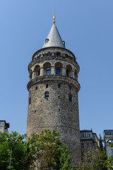 Galata Tower in Instabul Turkey