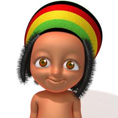 Baby Jake Rastafarian