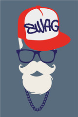Swag style look vector 2015
