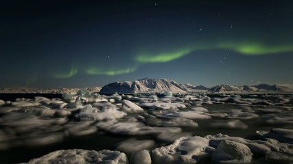 The Archipelago of Svalbard - land of the Northern Lights