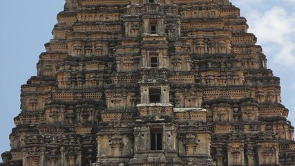 Detail of Virupaksha Temple