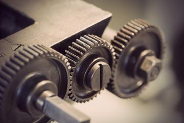 vintage cog wheels