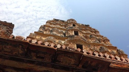 Side of Virupaksha Temple