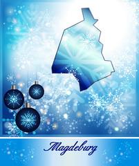 Karte von Magdeburg
