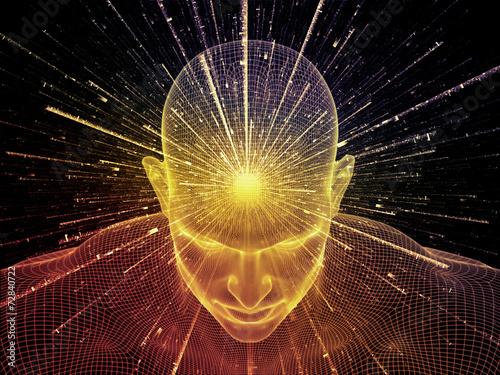 Fototapety, obrazy : Illusion of Mind