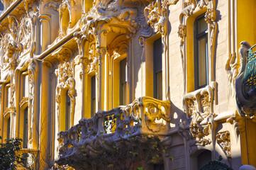 Palacio Longoria, Madrid, estilo modernista, siglo XX