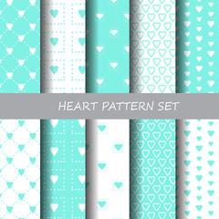 heart pattern set 1