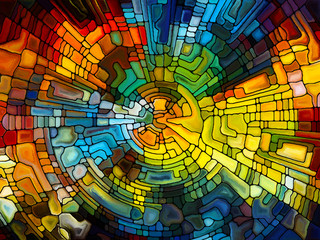 Vibrant Stained Glass