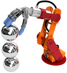 Robot arm technology industrial balls