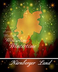 Karte von Nuernberger-Land