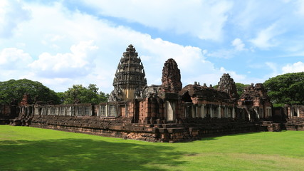 4K Time lapse of Phimai Historical Park, Thailand