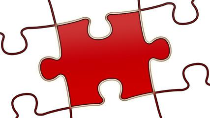 ptk43 PuzzleTeilGrafik ptk-v0 - leer - minus10grad rot g2500