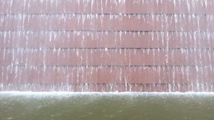 Waterfall on the wall