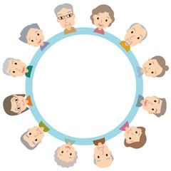 高齢者 コピースペース 円