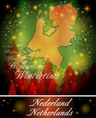 Karte von Niederlande