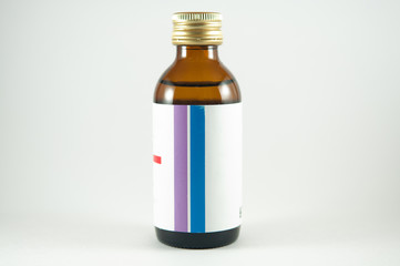Medicine bottle syrup