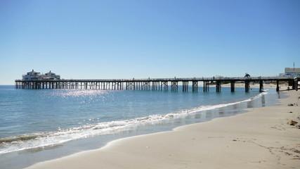 Malibu Pier Time Lapse