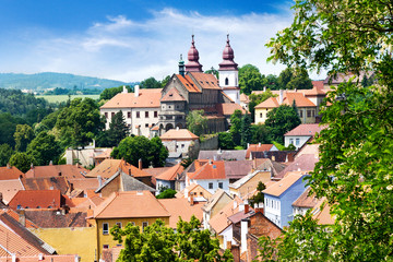 Basilica and Jewish town (UNESCO), Trebic, Czech republic