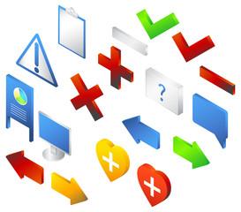 Isometric icon - Illustration