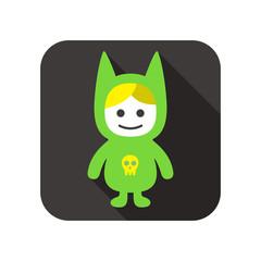 Baby flat icon design