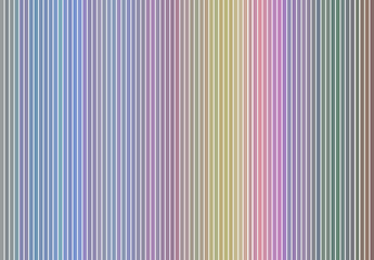 Abstract striped rainbow colored pattern